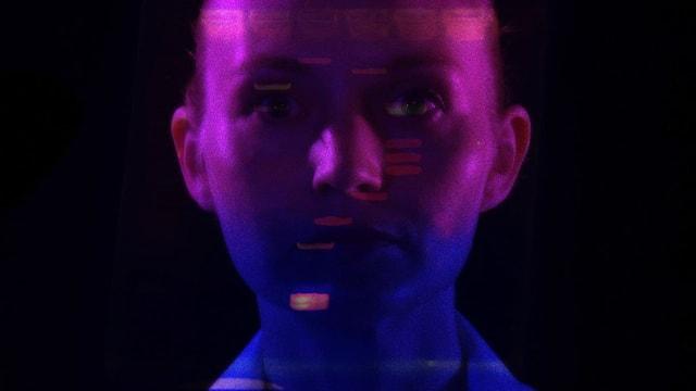 «Invisible» von Heather Dewey-Hagborg ist eines der Werke, das an der Transmediale zu sehen ist.
