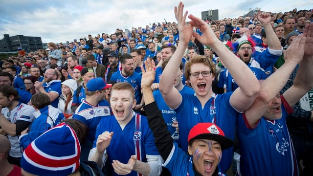 Fans islandais festiveschan
