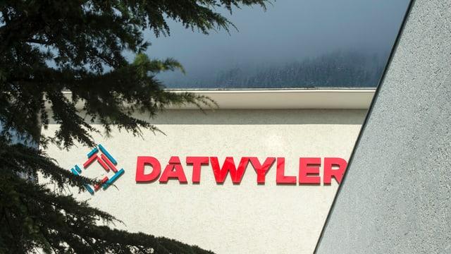 Das Firmengebäude von Dätwyler.