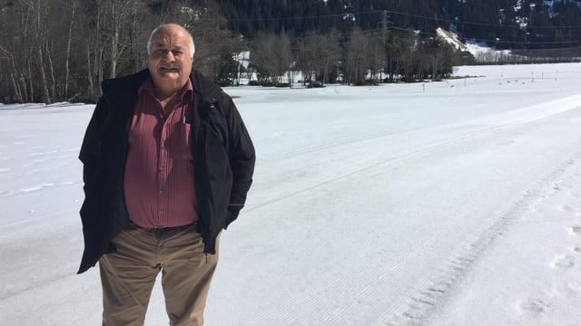 Il mument fan las temperaturas chaudas d'enfin diesch grads durant il di anc quitads a Giancarlo Torriani, il president dal comité d'organisaziun.