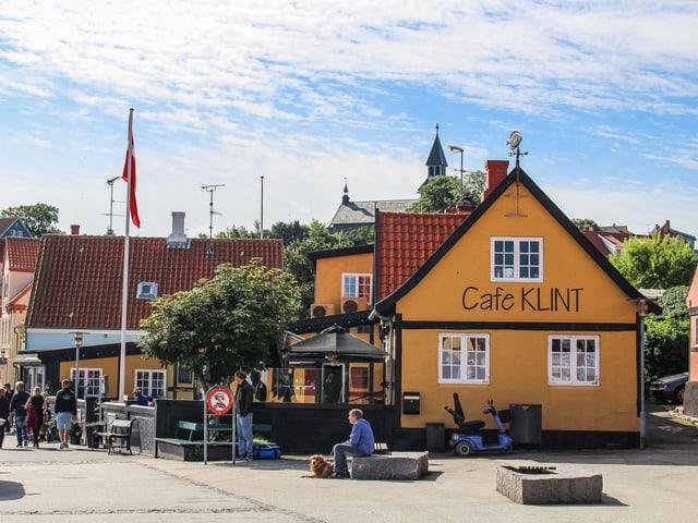 Ein Café in Dänemark.