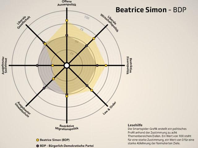 Smartspider von Beatrice Simon, BDP.