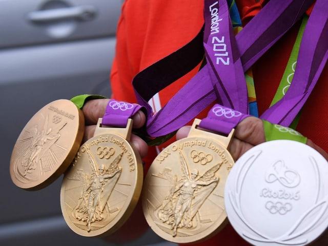 29 Goldmedaillen holte Grossbritannien an den heimischen Spielen 2012.