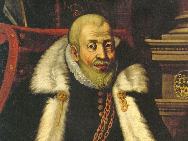 Hisotisches Gemälde von Ludwig Pfyffer von Altishofen
