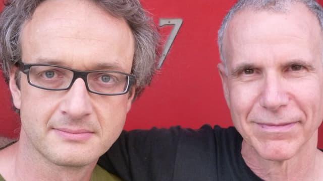 Daniel Schläppi (links) mit Marc Copland