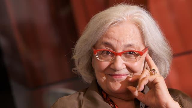 Elisabeth Schnell 2009 in der Jubiläumssendung «40 Jahre Nachtexpress».