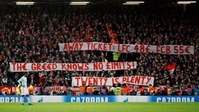 Die Ticket-Preise sind ihnen zu hoch.