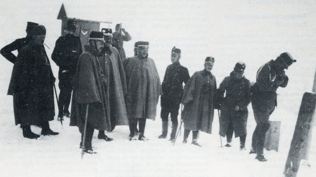 Stab dal Regiment 36, Infanteria da muntogna