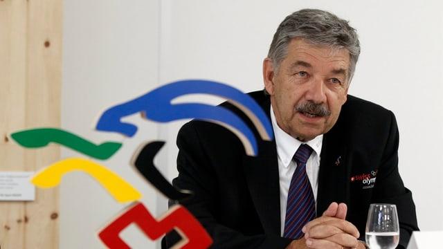 Jörg Schild, Swiss Olympic-Präsident: «Wir wollen Schweizer Spiele.»