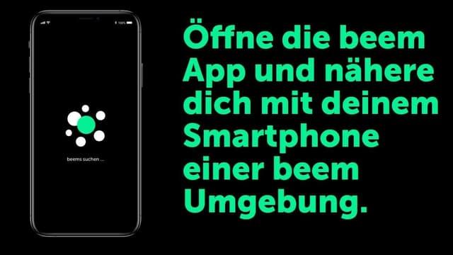 Smartphone und Text.