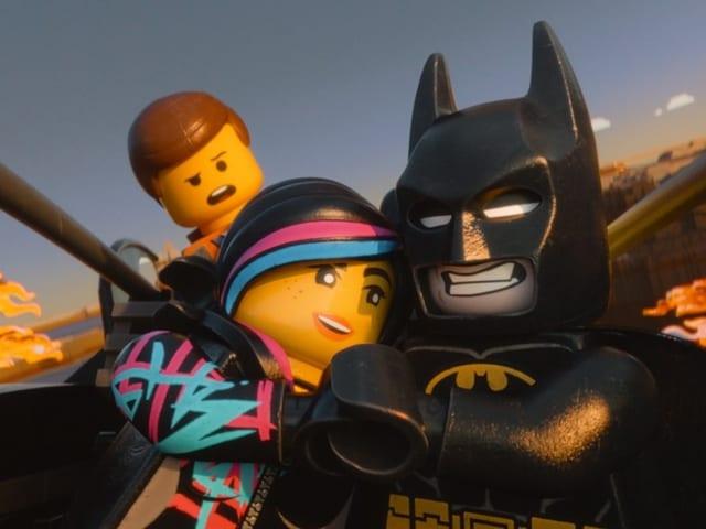 Die Lego-Film-Helden mit Batman