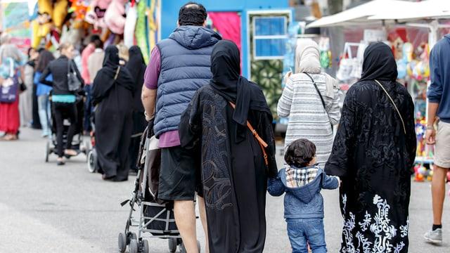 Muslime in der Stadt Genf – für jeden 6. Schweizer eine Bedrohung.