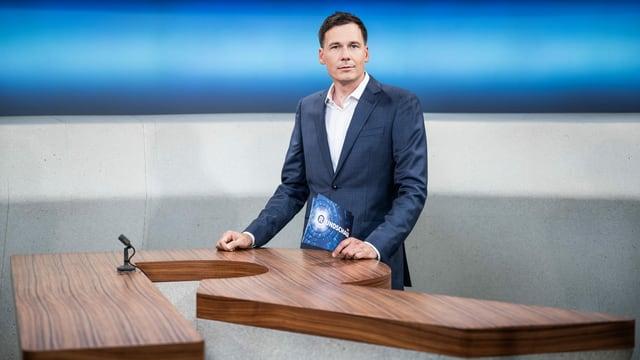 Dominik Meier, Moderator «Rundschau»
