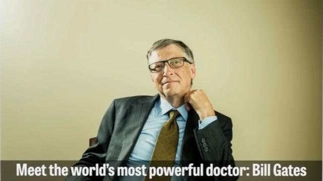Ein Ausschnitt aus dem Video zu Bill Gates.