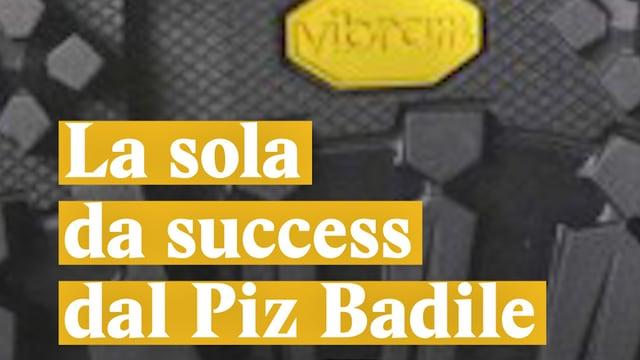 Laschar ir video «La sola da success dal Piz Badile»