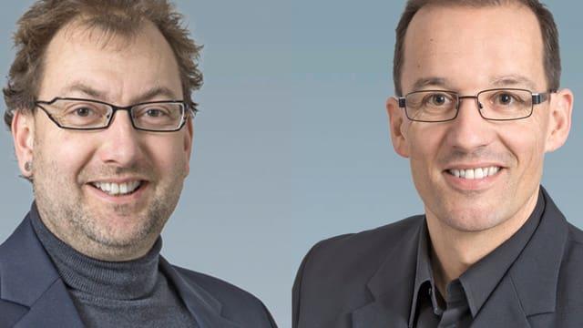 SP Kandidaten Peter Peyer und Andreas Thöny