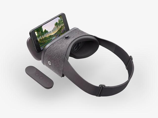 Google Daydream eine mobile VR Brille wie viele andere.