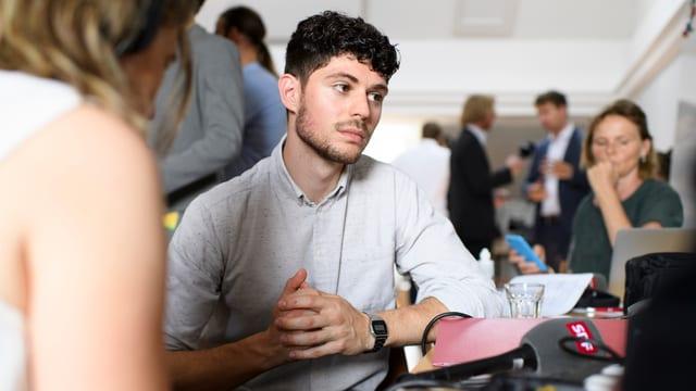 Luzian Franzini, Co-Präsident der jungen Grünen