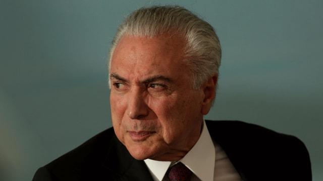 Brasiliens Ex-Präsident Michel Temer