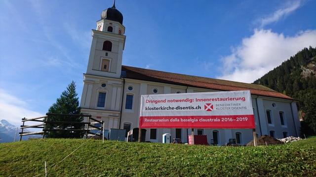 La claustra da Mustér dovra anc 1,6 milliuns francs per la restauraziun cumpletta da la baselgia.