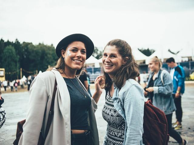 Festivalbesucherinnen