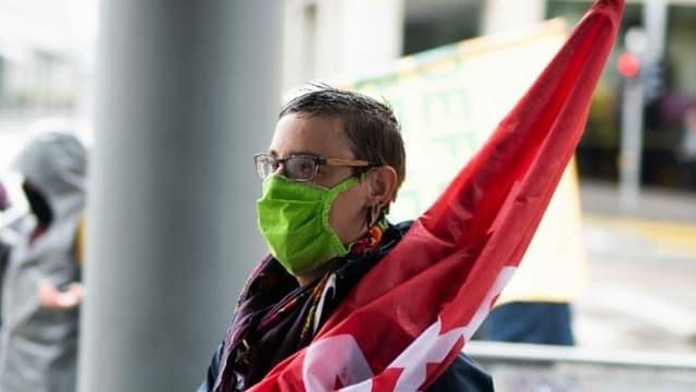 1. Mai-Demonstration: BastA steht hinter Zürcher