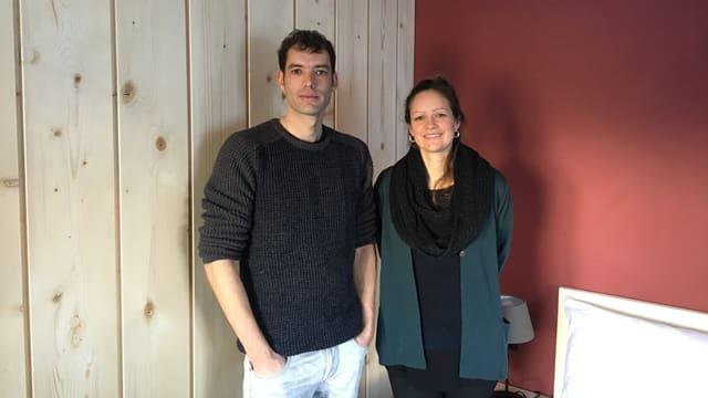 Rico Tuor e Livia Werder