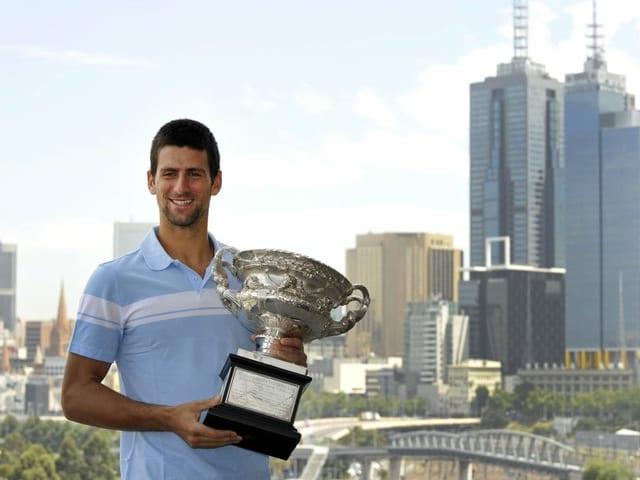 Djokovic in Melbourne 2011