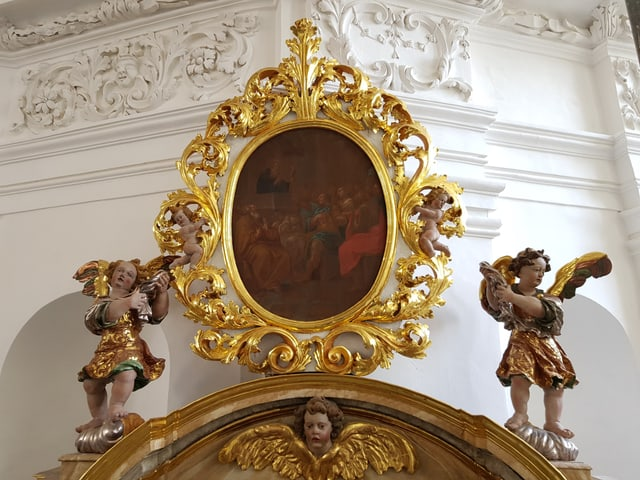 Detagl d'in altar lateral