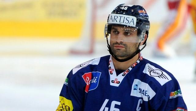 Paolo Duca auf dem Eis.