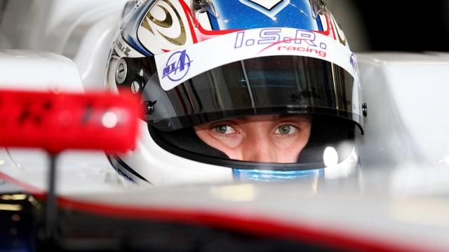 Sergej Sirotkin im Sauber-Cockpit.