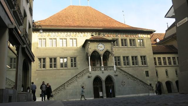 Rathaus von aussen.