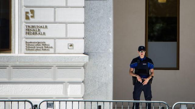 Il Tribunal federal penal a Bellinzona.