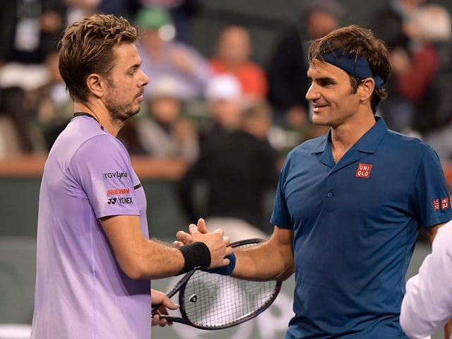 Wawrinka und Federer