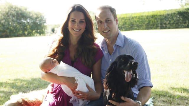 Kate, William, George,
