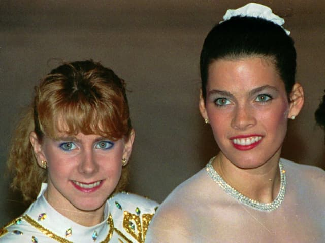 Tonya Harding und Nancy Kerrigan
