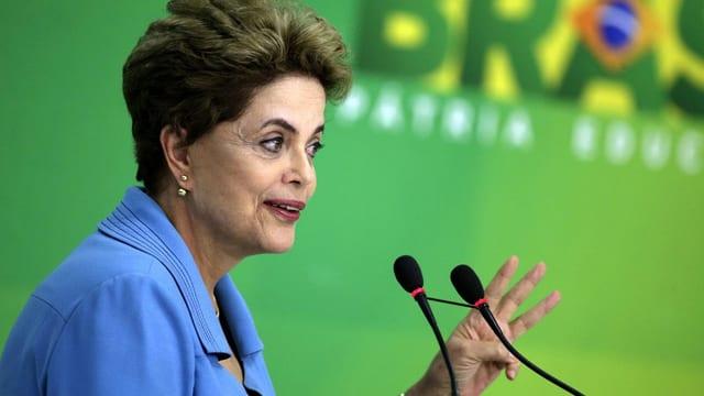 purtret da la presidenta da la Brasilia Dilma Rousseff