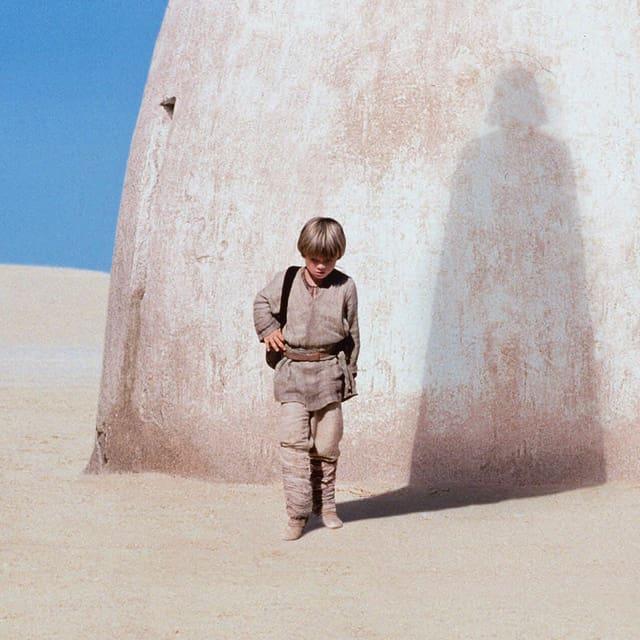 Jake Lloyd als Anakin Skywalker im Film Star Wars.