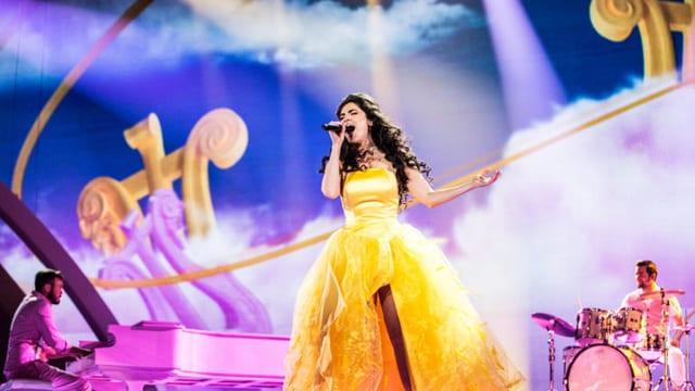 Eurovision Song Contest 2017 Kiew: Timebelle bei den Proben in Kiew
