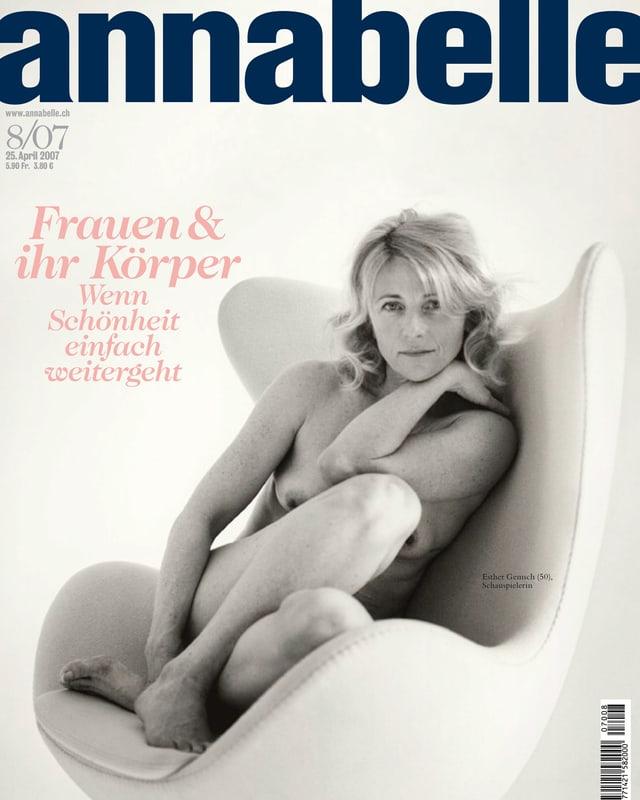Annabelle Cover mit einer nackten Frau