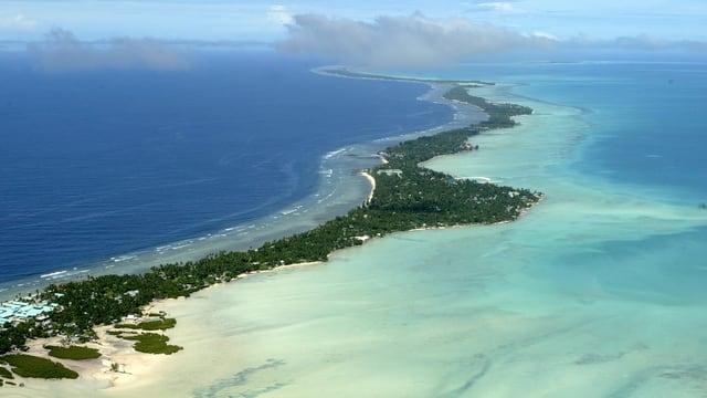 Der Inselstaat Kiribati.