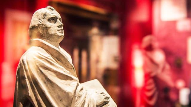 Modellentwurf für Luther-Denkmal.