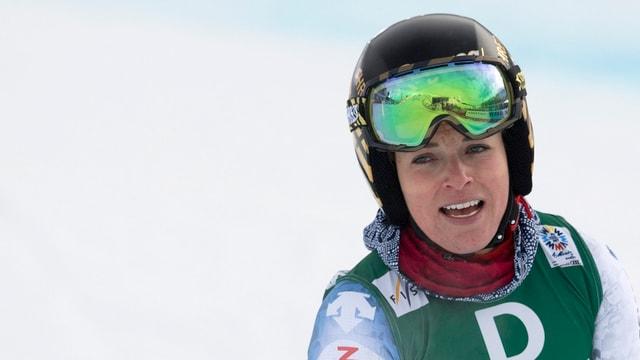 purtret da la skiunza Lara Gut