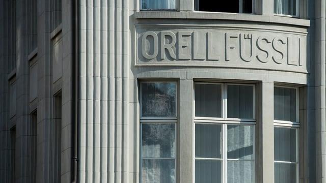 Fassade von Orell Füssli.