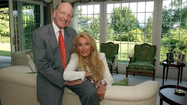 Klaus Jacobs und seiner Frau