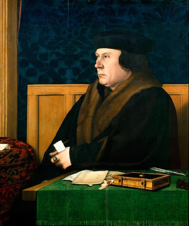 Gemälde eines Mannes mittleren Alters.