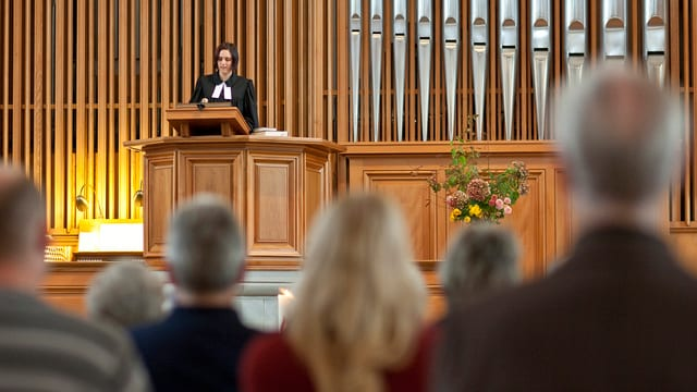 Gottesdienst in der reformierten Kirche Thalwil