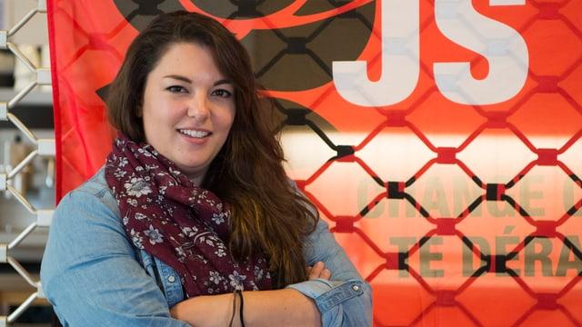 Tamara Funiciello ch'è da nov vicepresidenta da la PS Svizra.