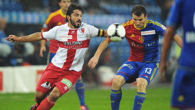 Basel - Sion ist das 1. TV-Livespiel im Februar bei SRF.