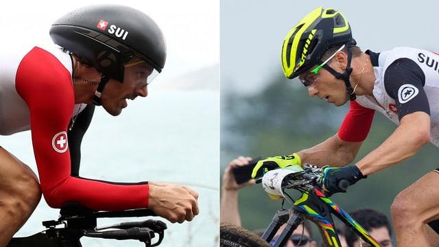 Ils campiuns olimpics Fabian Cancellara e Nino Schurter
